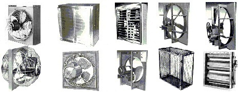Chicago blower vaneaxial tubeaxial fan ventilators.